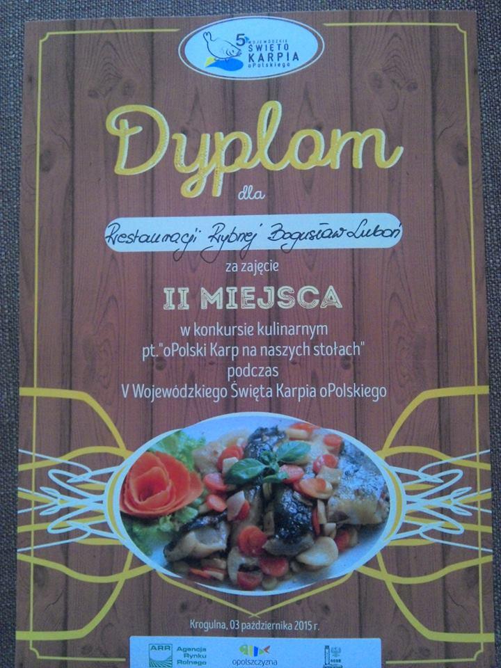 II miejsce w konkursie kulinarnym